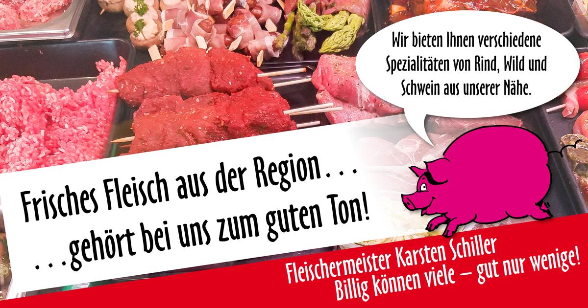 Banner Fleisch aus der Region